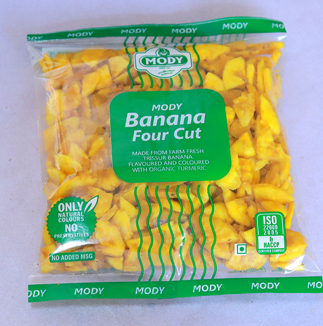 Banana Chips 4 Piece